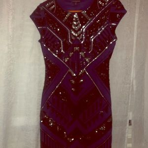 Sequined Express Dress Size Small